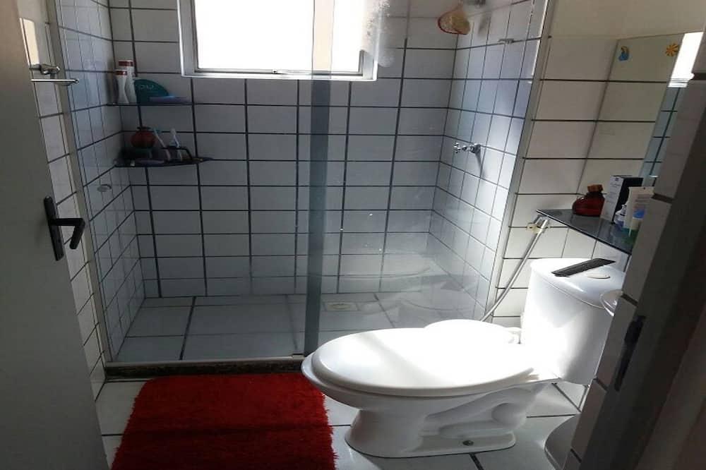דופלקס קלאסי, מיטה זוגית - חדר רחצה