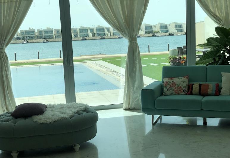 Durrat Al Bahrain Luxury Villa, Durrat Al Bahrain, Villa, 4 magamistoaga, vaade merele, Vaade toast