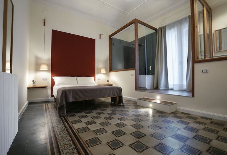 Bed in Spa, Palerme, Chambre Double, baignoire à jets, Chambre