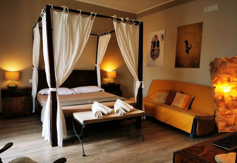 Casa come me, Palerme, Chambre Triple Design, salle de bains attenante, vue ville (Flavia), Chambre