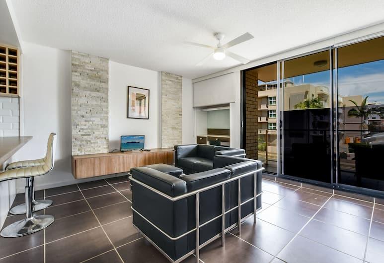 Barbican Mooloolaba Beach Location, Mooloolaba, Apartment, 2 Bedrooms, Marina View, Living Area