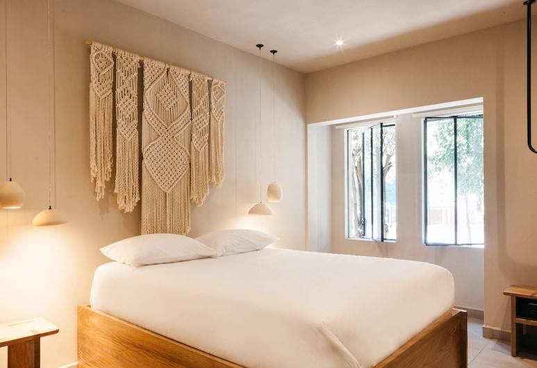 Casa Pancha - Hostel, Mexico City, Double Room, 1 Queen Bed (Pancha), Guest Room