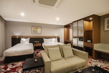 Nuotrauka: Hotel Kennystory Premium Jeju Yeondong, Džedžu