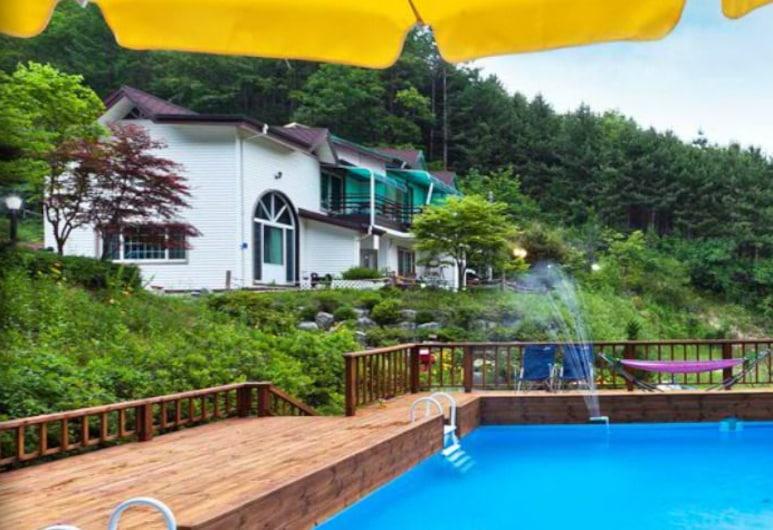 Pine Aroma Pension, Hongcheon, Outdoor Pool