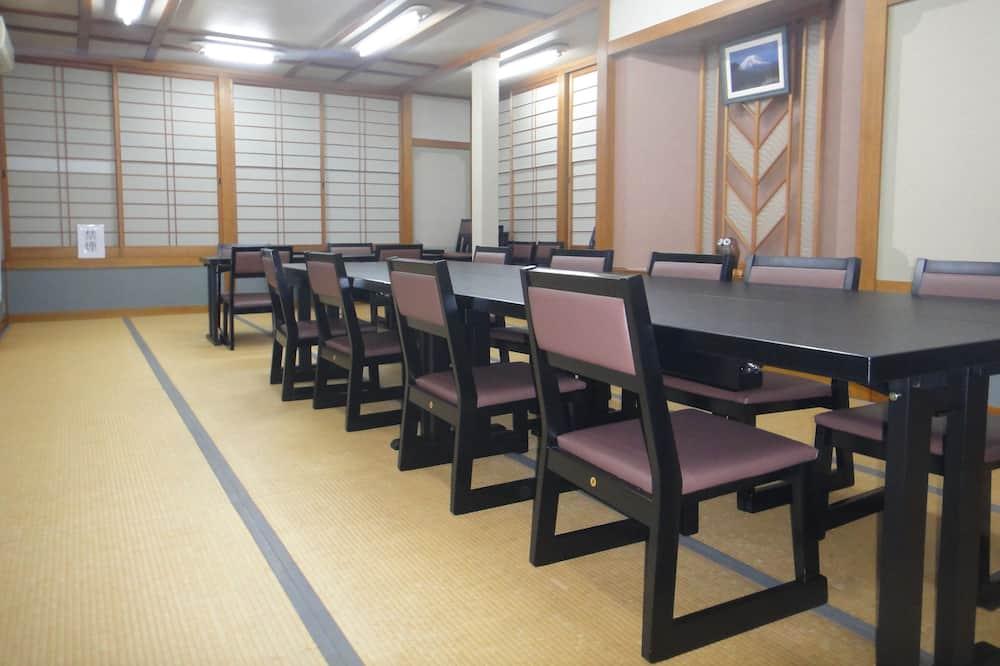 Traditional Room, Shared Bathroom (Japanese Style, Half Board) - Tempat makan Ryokan