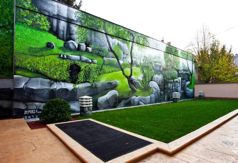 Carpe Diem Apartments, Belgrad, Terrasse/Patio