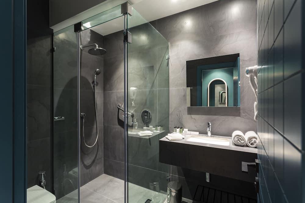標準雙人房, 露台 - 浴室淋浴間