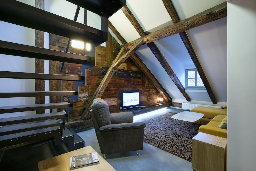 Departamento de diseño, Varias camas (5A) - Sala de estar