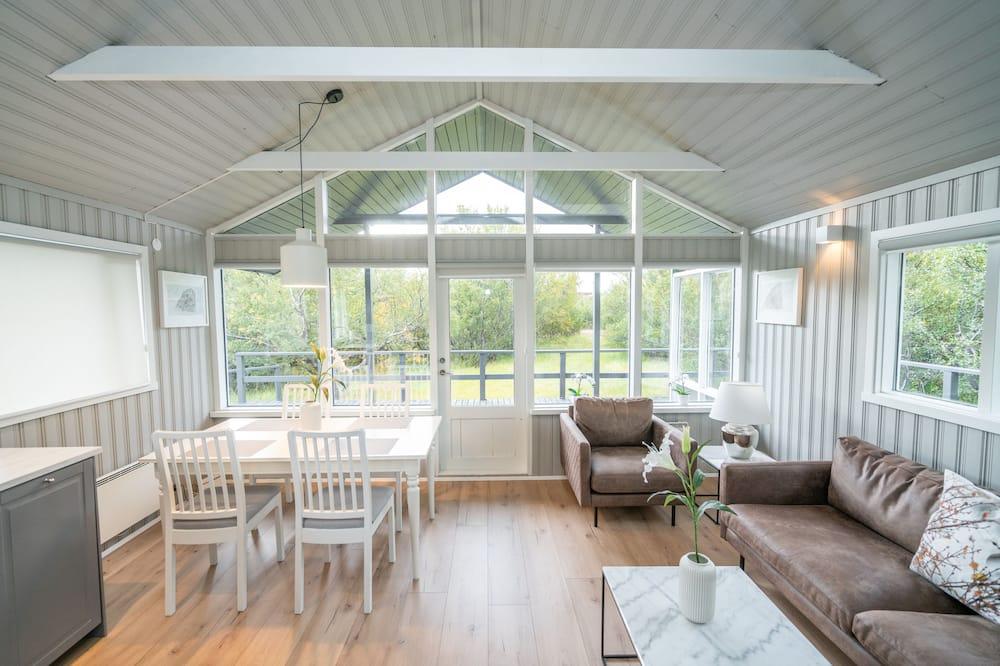 Holiday cottage - Area soggiorno