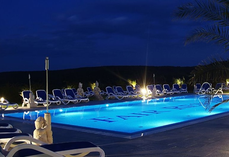 Fair Resort, Zöllnitz, Kolam Renang Luar Ruangan