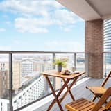 Ekskluzīvs dzīvokļnumurs, 2 divguļamās gultas, skats uz pilsētu - Balkons