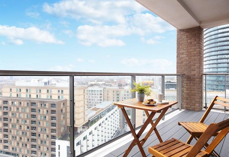 Liberty Serviced Apartment, London, Exclusive-Apartment, 2Doppelbetten, Stadtblick, Balkon