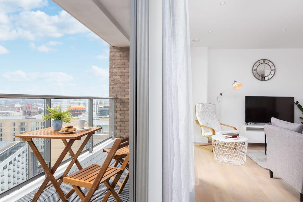 Ekskluzīvs dzīvokļnumurs, 2 divguļamās gultas, skats uz pilsētu - Terase/iekšējais pagalms