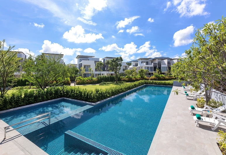 3BDR 라구나 파크 푸켓 타운홈 Nr 16, Choeng Thale, 야외 수영장