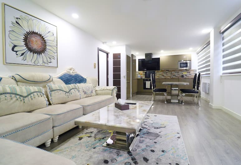 Queen Stay Apartments, Sheffield, Apartment, Ruang Tamu