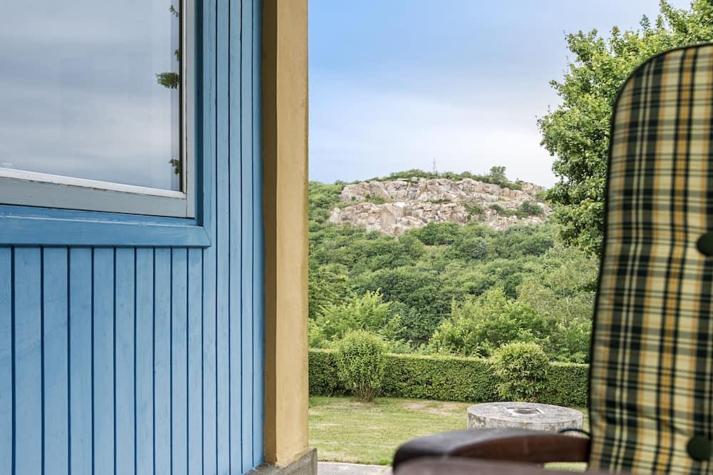 Студия, мини-кухня, вид на горы - Вид с балкона