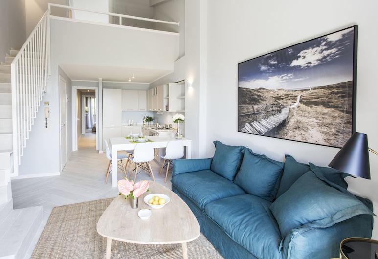 Punta Ala Seaview Apartments, Castiglione Della Pescaia, Διαμέρισμα, 2 Υπνοδωμάτια, Περιοχή καθιστικού