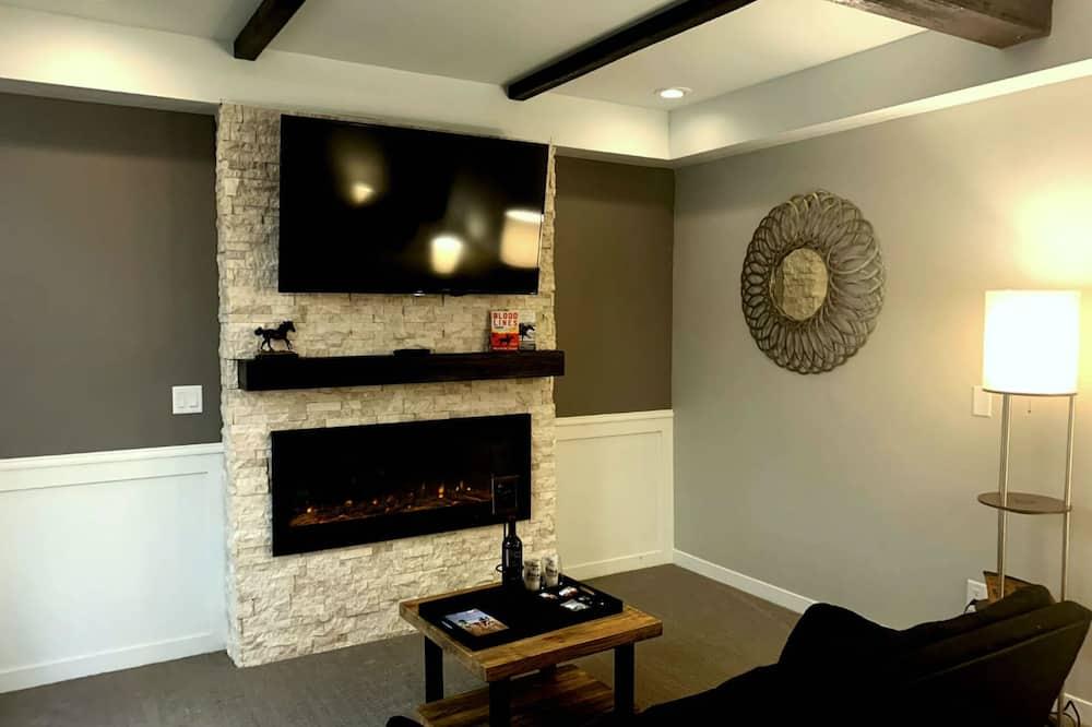 豪華開放式套房 - 客廳