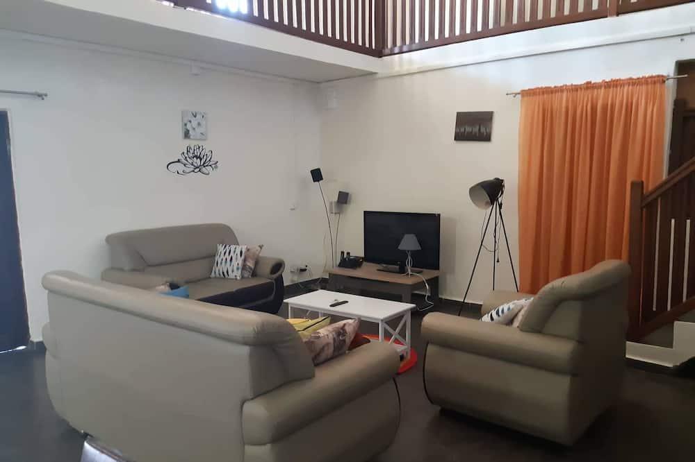 Suite Confort, Varias camas - Sala de estar