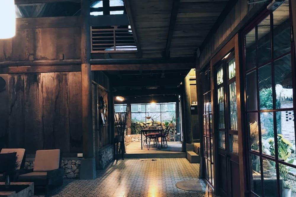 Design szoba kétszemélyes ággyal (2) - Nappali rész
