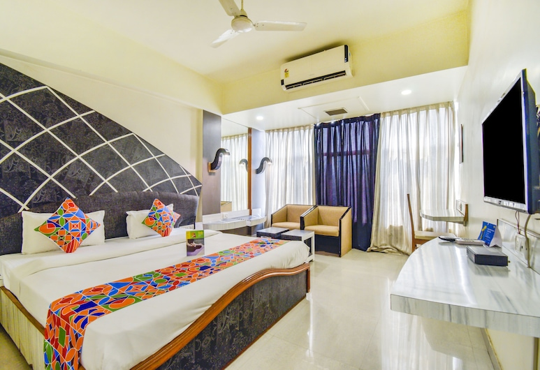FabHotel Prestige Princess, Jabalpur, Camera Executive, 1 letto queen, Vista dalla camera