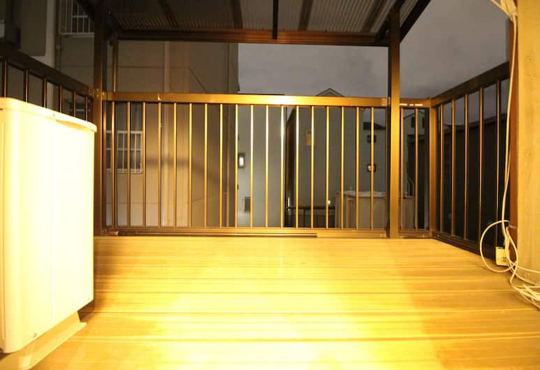 Kyoryokann Hinari, Kyoto, Private Vacation Home, Balcony