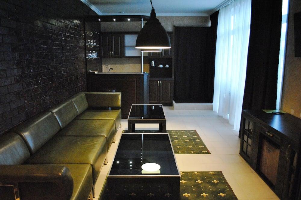 Suite, 1 Schlafzimmer (1) - Wohnbereich