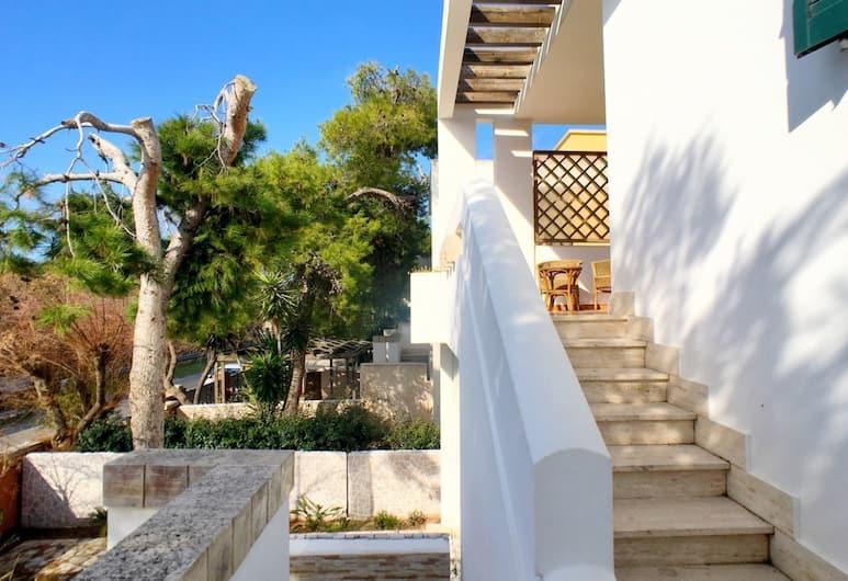 Villetta Bajia, Gallipoli, A szálláshely bejárata