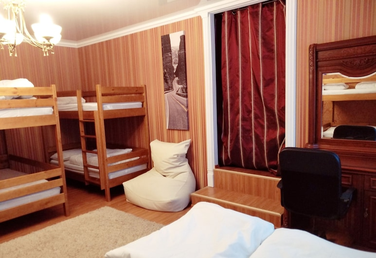 Guest House Alma, Minsk, Gemeinsamer Economy-Schlafsaal, Gemischter Schlafsaal, Gartenblick (8 beds), Zimmer