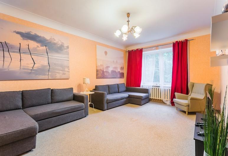Dom on Frunzenskaya, Moscow, Apartment, Living Room