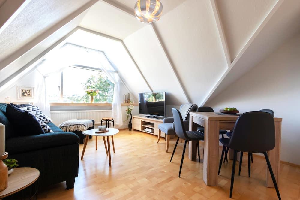 アパートメント 2 ベッドルーム (131124) - リビング ルーム