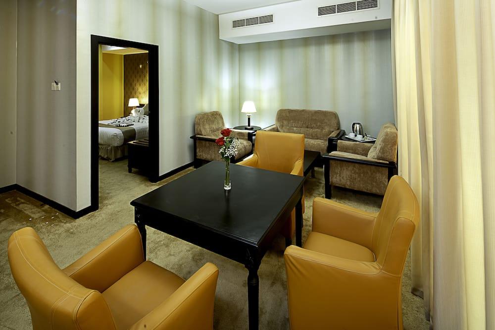 Habitación estándar con 2 camas individuales, 2 habitaciones, habitaciones comunicadas - Zona de estar