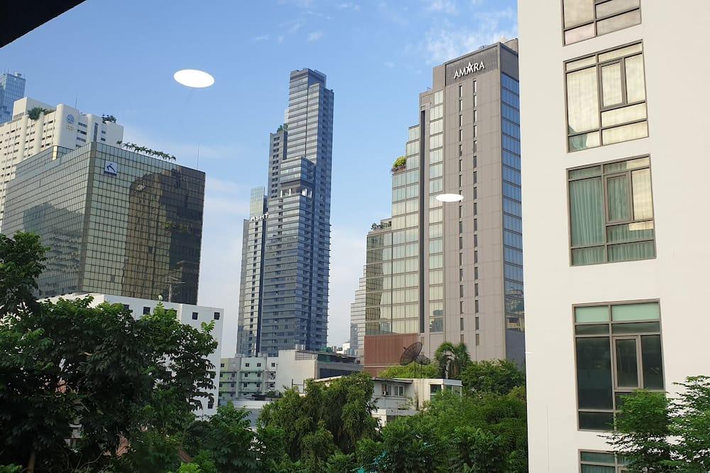 Pokój dwuosobowy typu City, Łóżko king, widok na miasto - Z widokiem na miasto