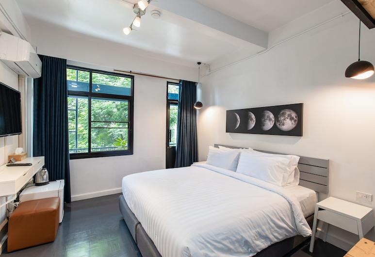 エブリ スラウォン, バンコク, シティ ダブルルーム キングベッド 1 台 シティビュー, 部屋