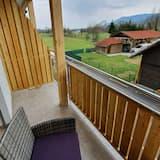 Апартаменти «Делюкс», 1 ліжко «кінг-сайз» та розкладний диван, з балконом, з видом на гори - Балкон
