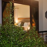 Pokoj Business s dvojlůžkem, dvojlůžko (200 cm), bezbariérový přístup, výhled do zahrady - Balkón
