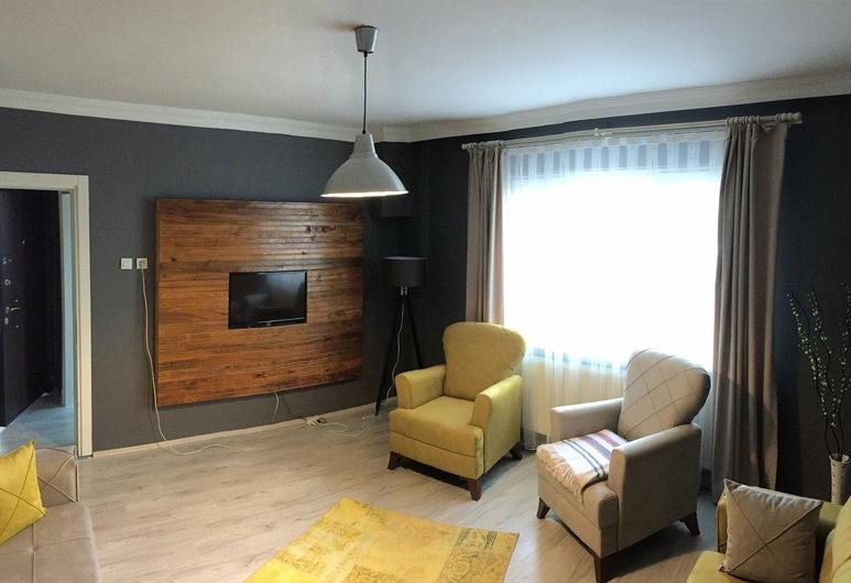 Baran House, Tekirdag, Classic-Apartment, Meerblick, Wohnzimmer