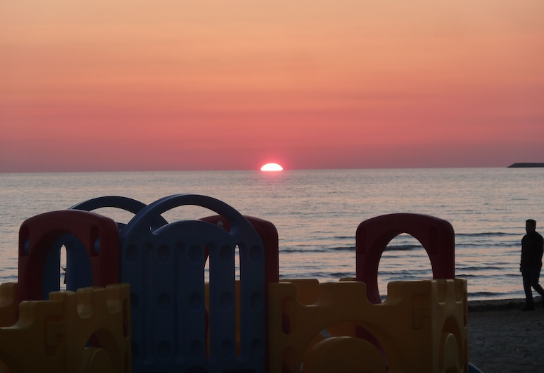 Holiday in Albania by the sea in Durres, Durres, Paplūdimys