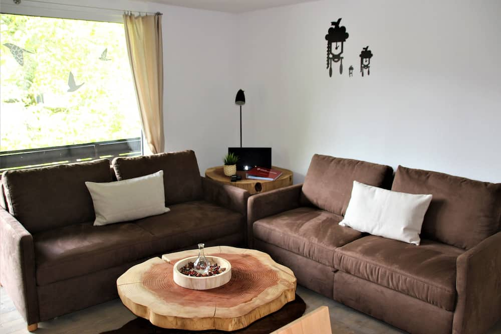 Apartament typu Design, widok na miasto - Pokój