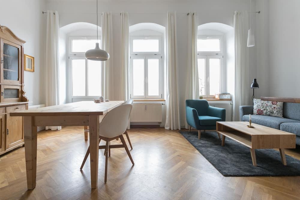 アパートメント テラス - リビング ルーム