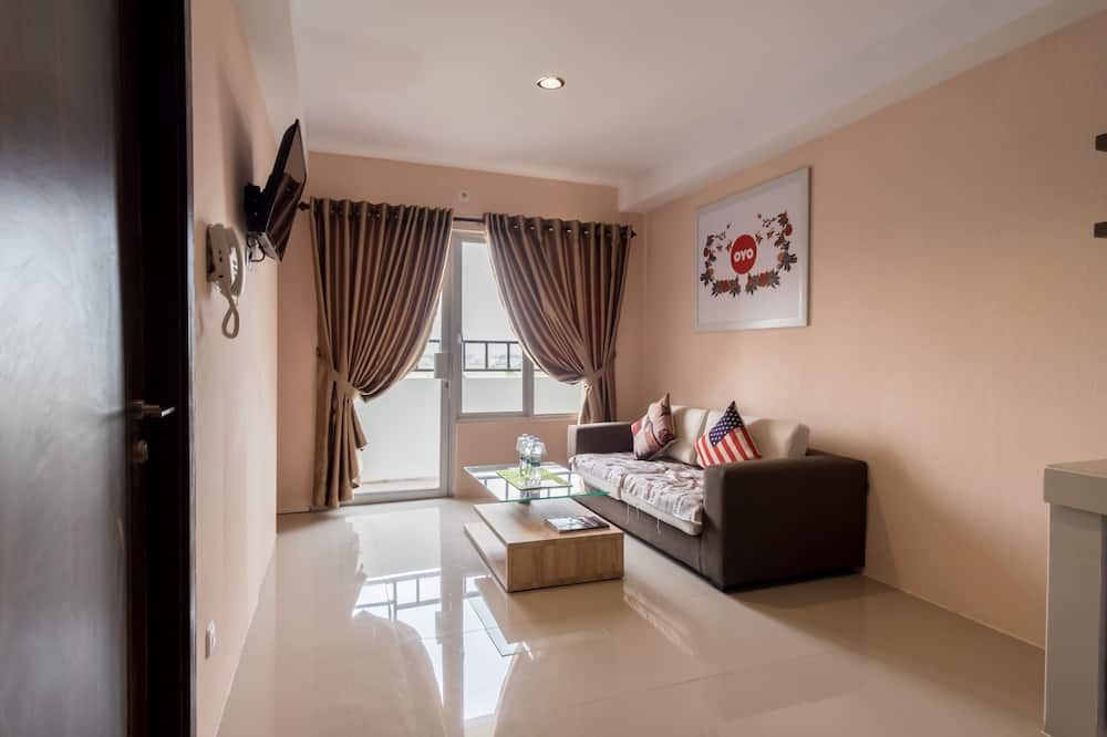Apartament rodzinny typu Suite, Wiele łóżek - Powierzchnia mieszkalna