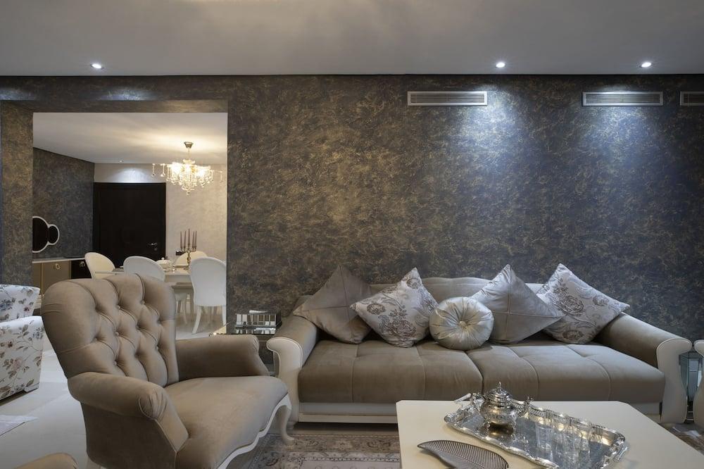 Exklusiv lägenhet - 2 sovrum - Vardagsrum