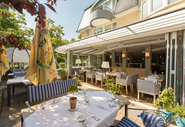 Hotel Tandreas , Gießen, Speisen im Freien