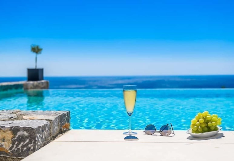 Afantou Beach Villa , Rodosz, Villa, 4 hálószobával, privát medence, Saját medence