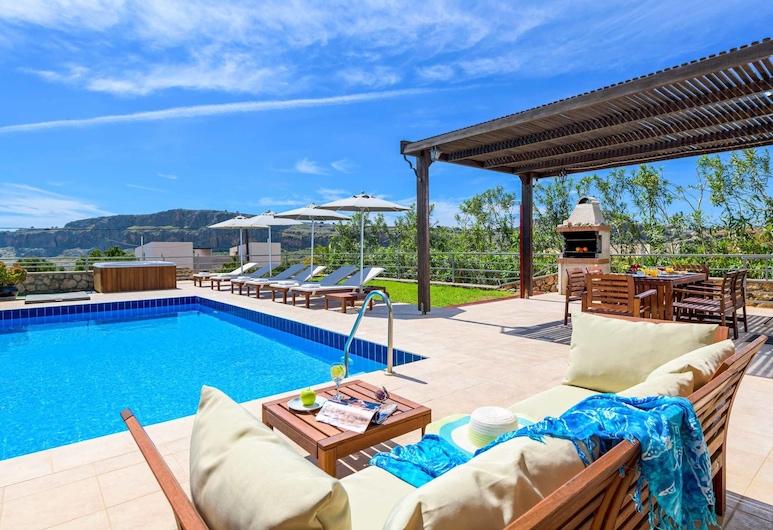 Villa Aphrodite Lindos , Rodosz, Kültéri medence