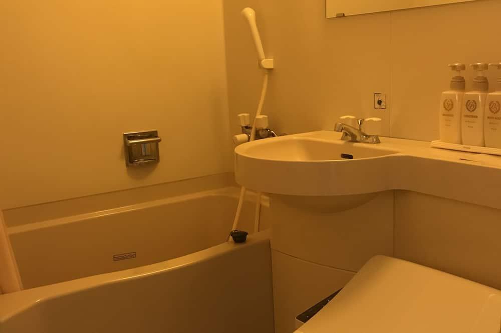 Номер з 2 односпальними ліжками, для курців - Ванна кімната