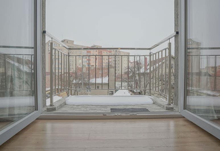 CN2i Luxury Accommodation Traian, Brasov, Studio Luxe, vue ville, Vue de la chambre