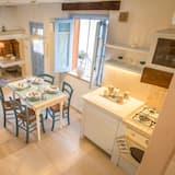 Apartmán, 2 ložnice, částečný výhled na moře - Obývací prostor