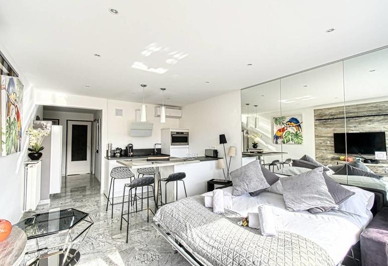 Superb 3 Rooms 5 People, Near Croisette!, Cannes, Herbergi
