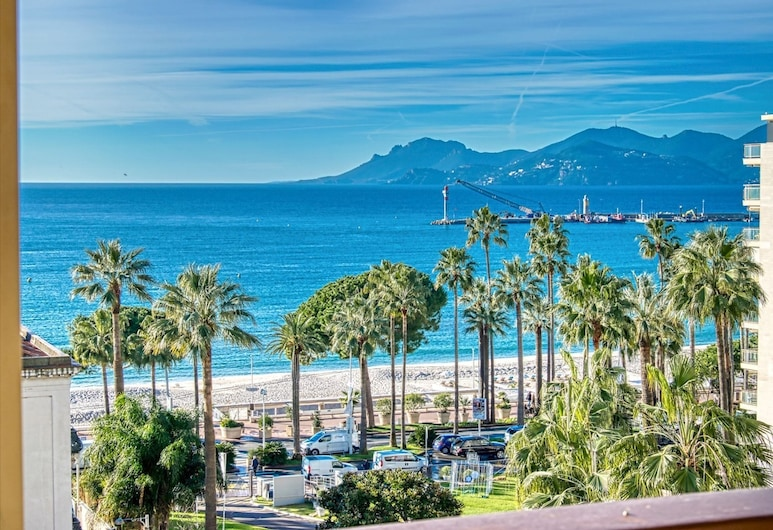 Amazing sea View Apartment - Grand Hotel Croisette, Cannes, Strand